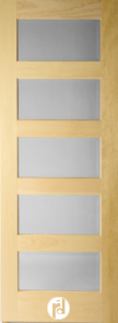 Series 200 Interior Doors with Quarter Round Moulding Profile