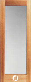 Series 300 Interior Glass Doors with Quarter Round Moulding Profile