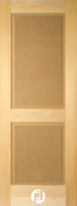 Series 700 Doors with Raised Panels and Quarter Round Moulding Profile